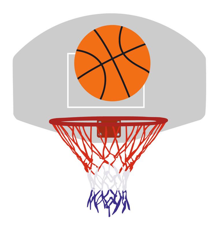 Free Basketball Hoop clipart