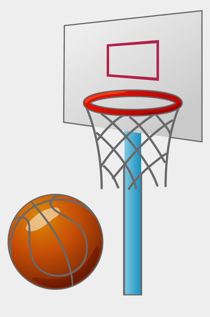 Fun Basketball Hoop clipart