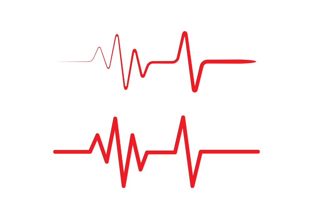 Heartbeat clipart 1