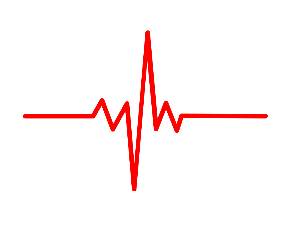 Heartbeat clipart 2