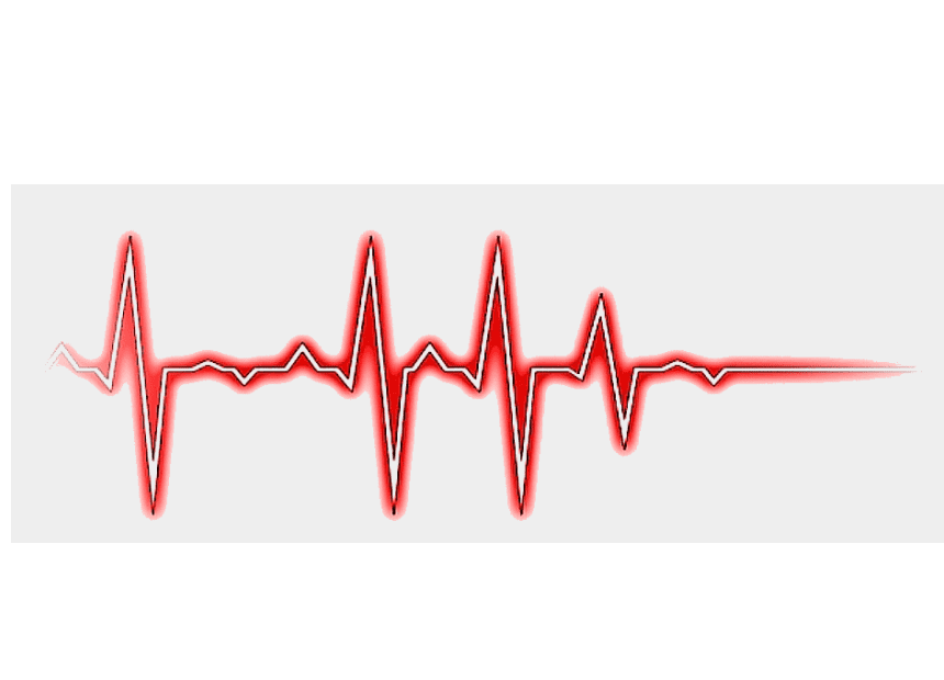 Heartbeat clipart 4