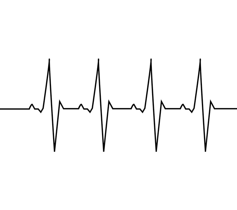 Heartbeat clipart free 2