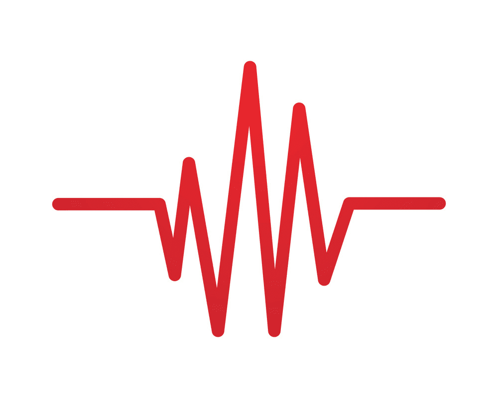 Heartbeat clipart free 5