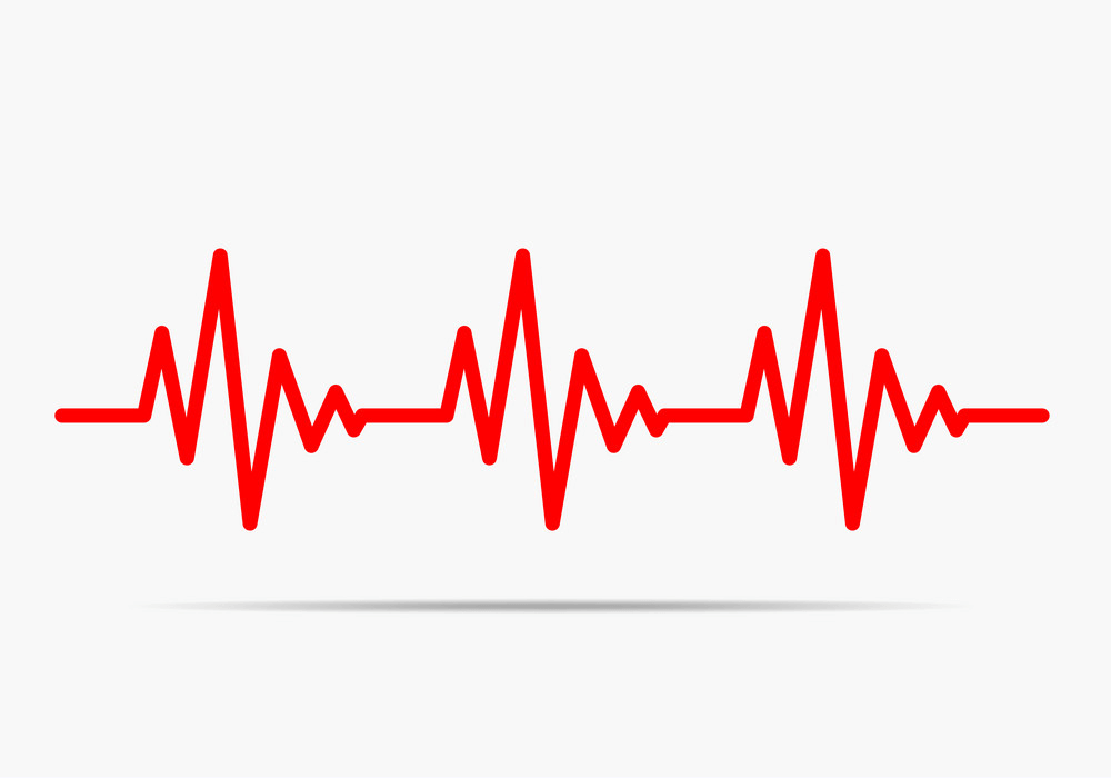 Heartbeat clipart free