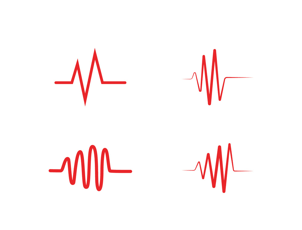 Heartbeat line clipart 2