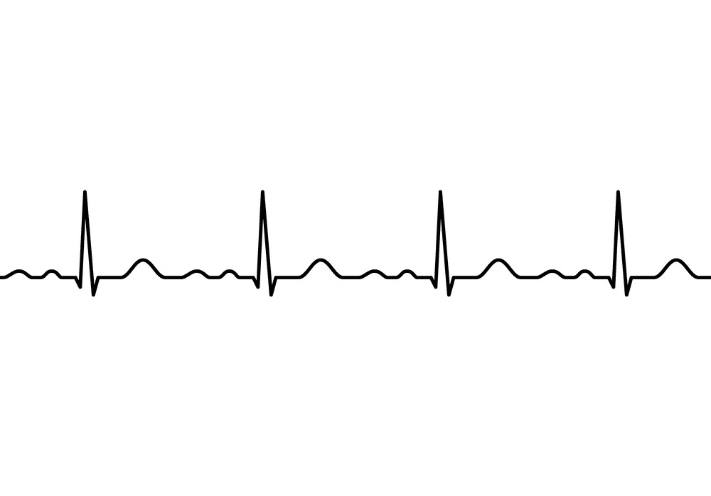 Heartbeat line clipart 4