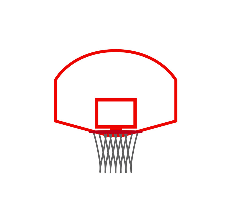 Icon Basketball Hoop clipart
