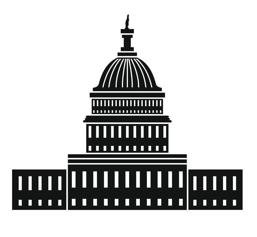 Icon White House clipart