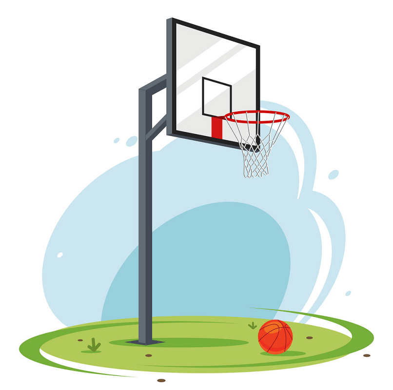 Image Basketball Hoop clipart