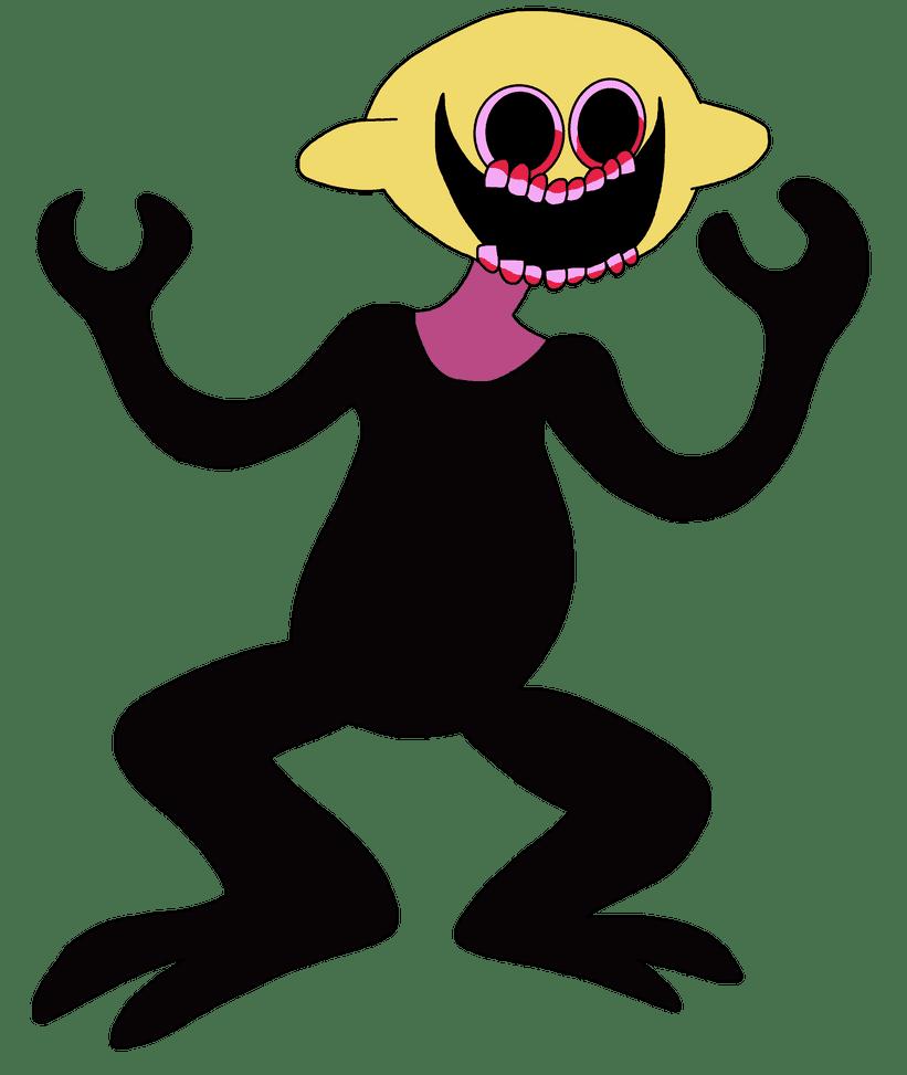 Monster Friday Night Funkin clipart transparent 1