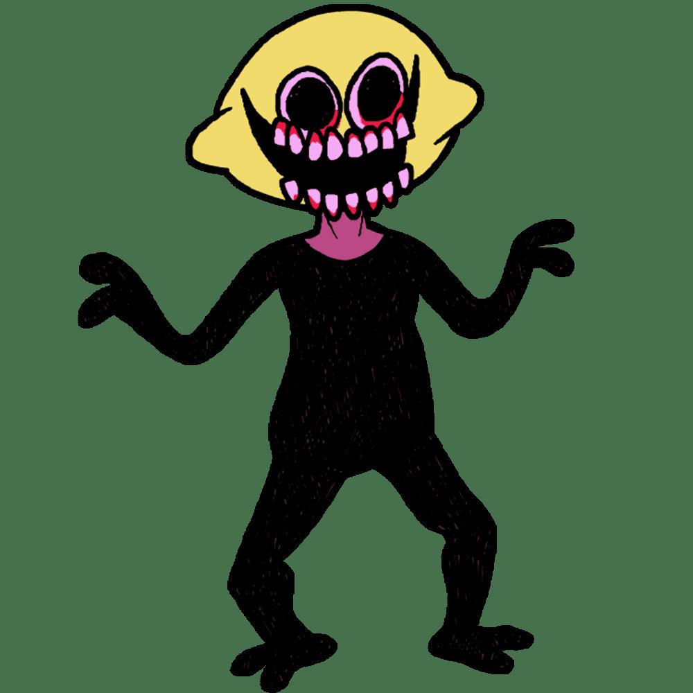 Monster Friday Night Funkin clipart transparent