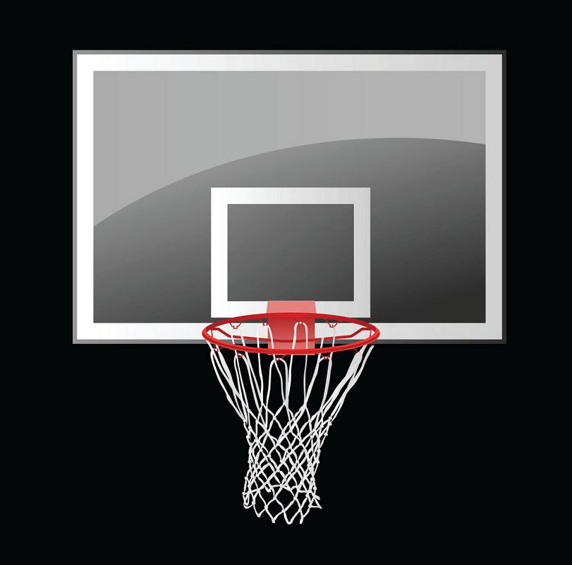 Normal Basketball Hoop clipart