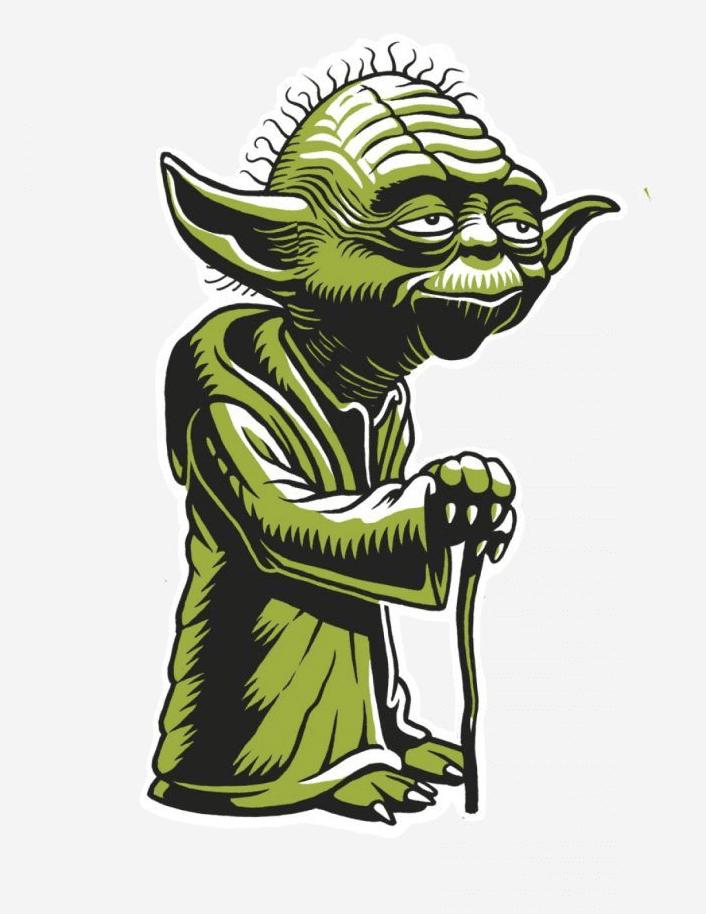 Star Wars Yoda clipart 2