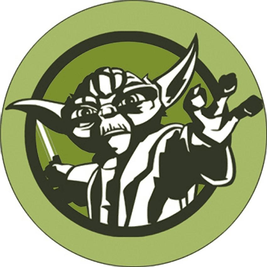 Star Wars Yoda clipart free
