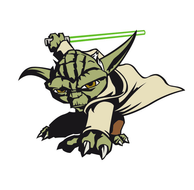 Star Wars Yoda clipart png