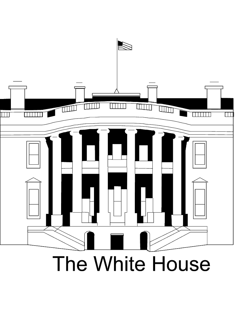 The White House clipart
