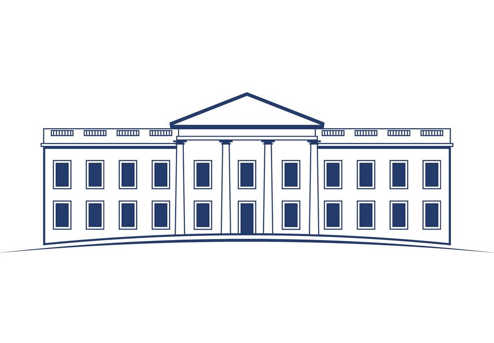 White House Icon clipart