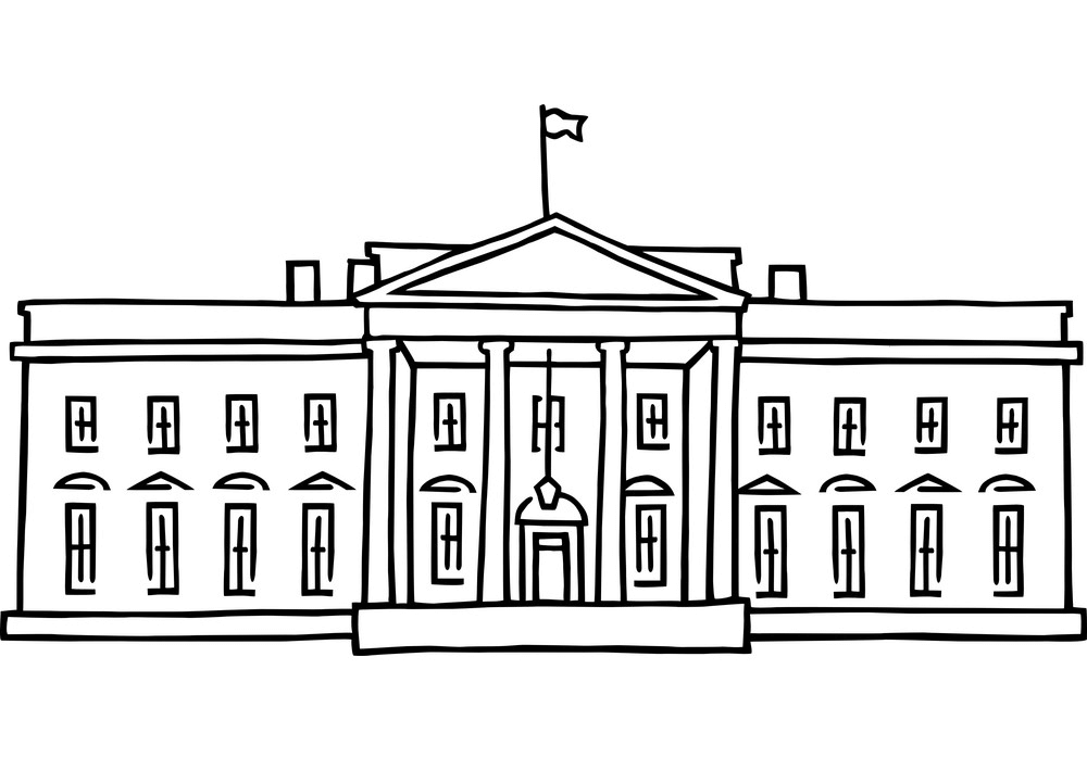 White House clipart image