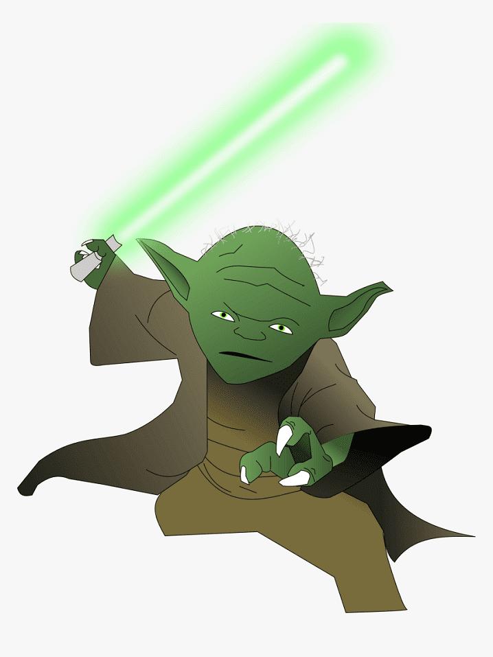Yoda clipart 1
