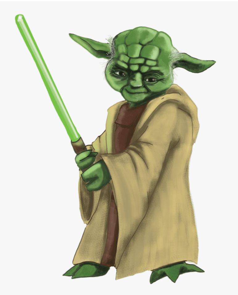 Yoda clipart 2