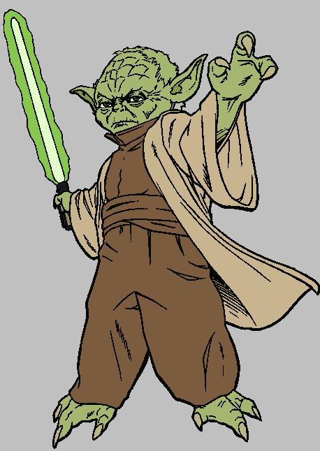 Yoda clipart 3