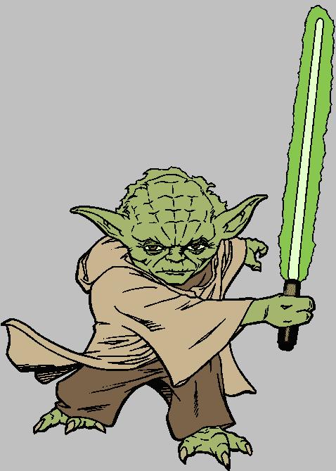 Yoda clipart 4