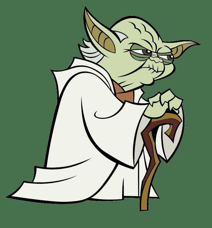 Yoda clipart transparent