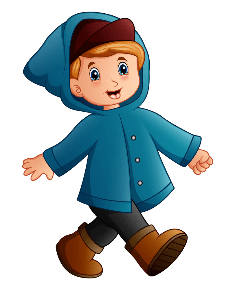 A Little Boy clipart
