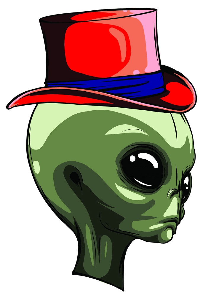 Alien clipart 1