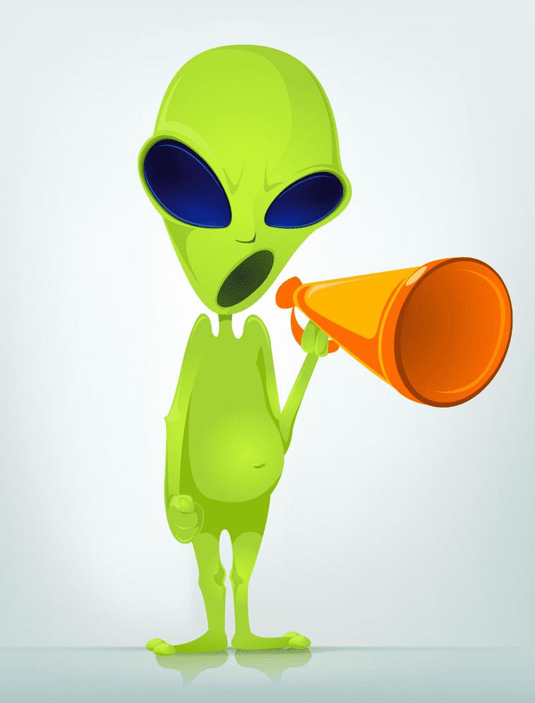 Alien clipart 3