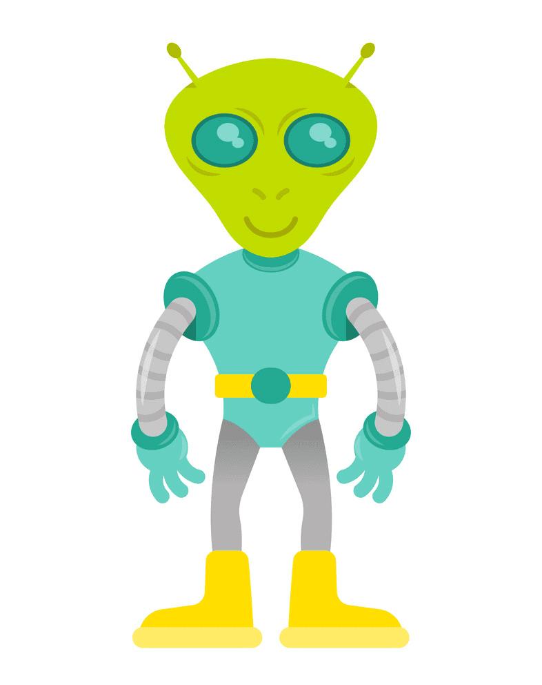 Alien clipart free