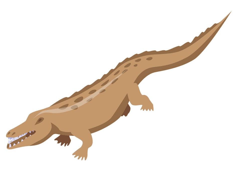 Alligator clipart free