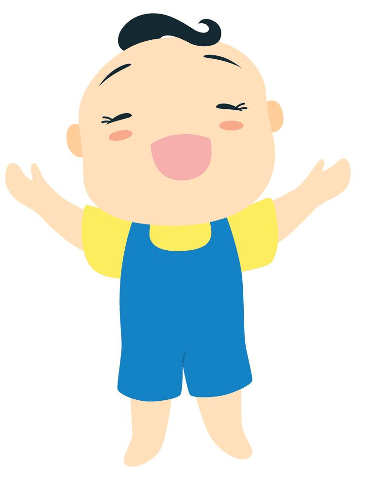 Baby Boy clipart 1