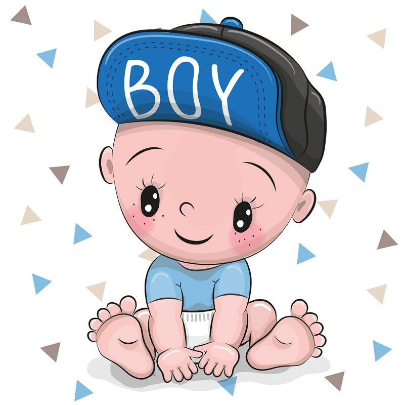 Baby Boy clipart 3