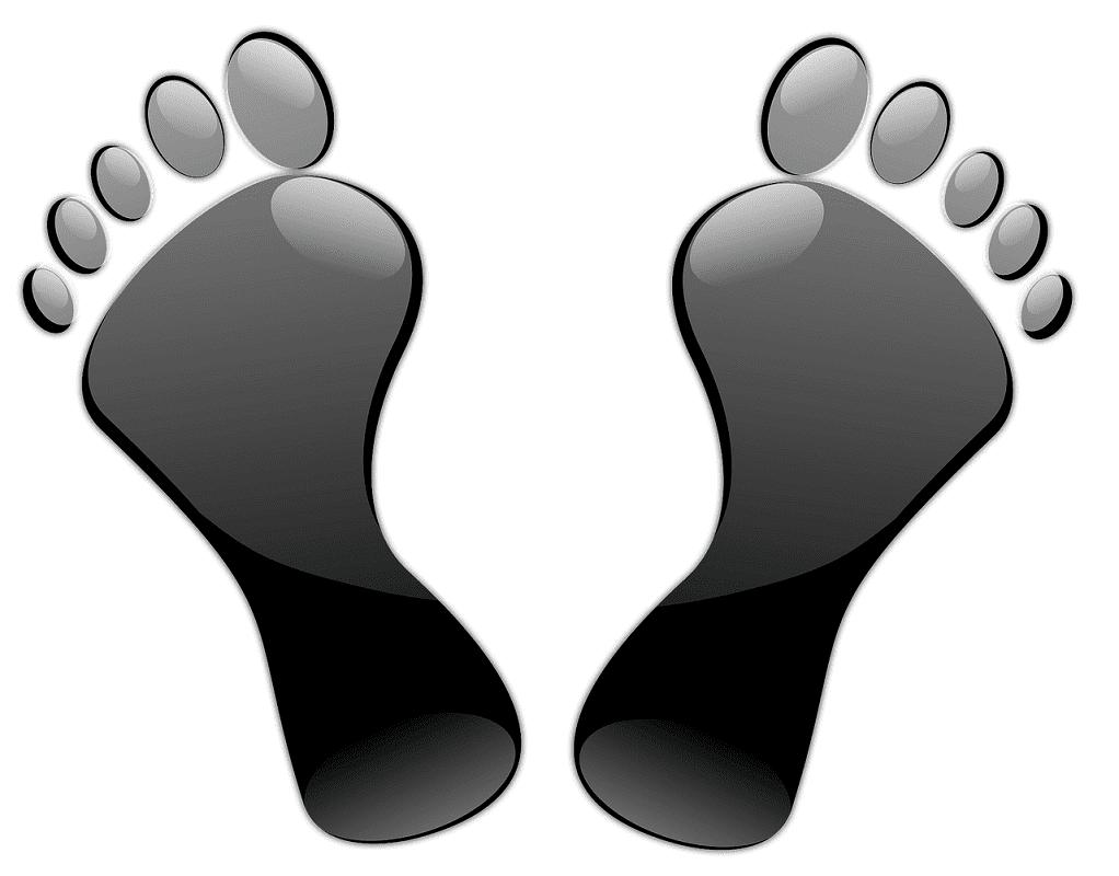 Black Feet clipart
