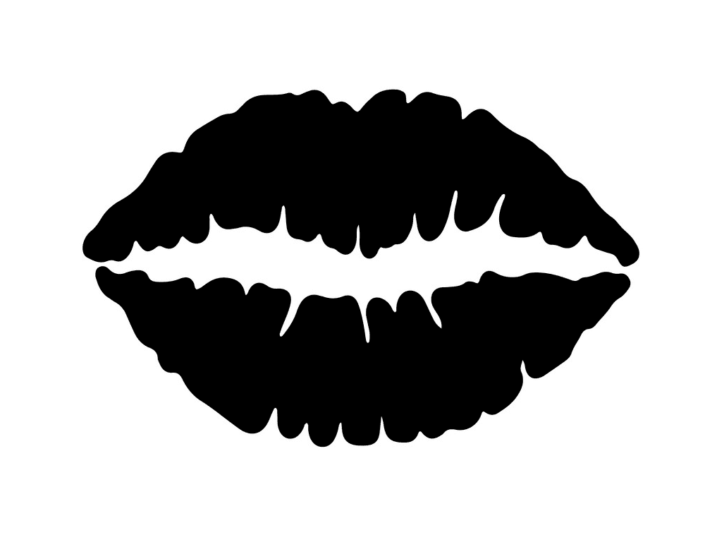 Black Lips clipart free