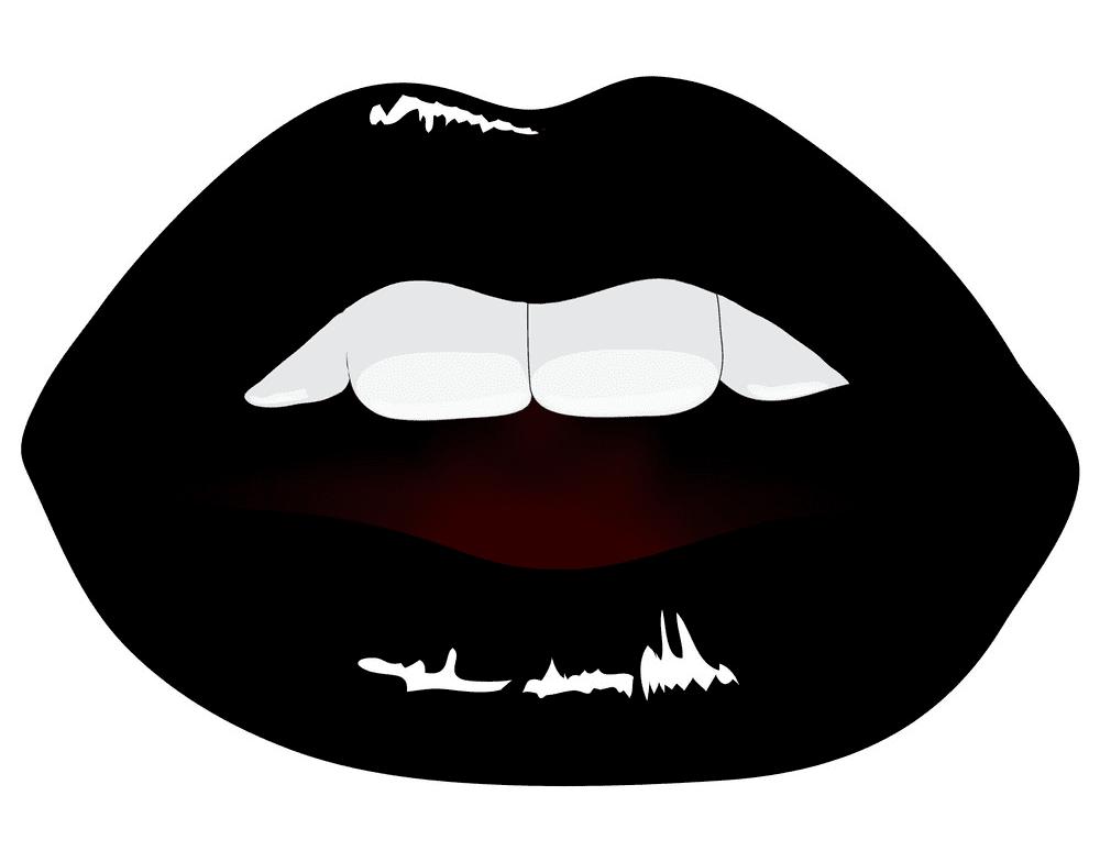 Black Lips clipart