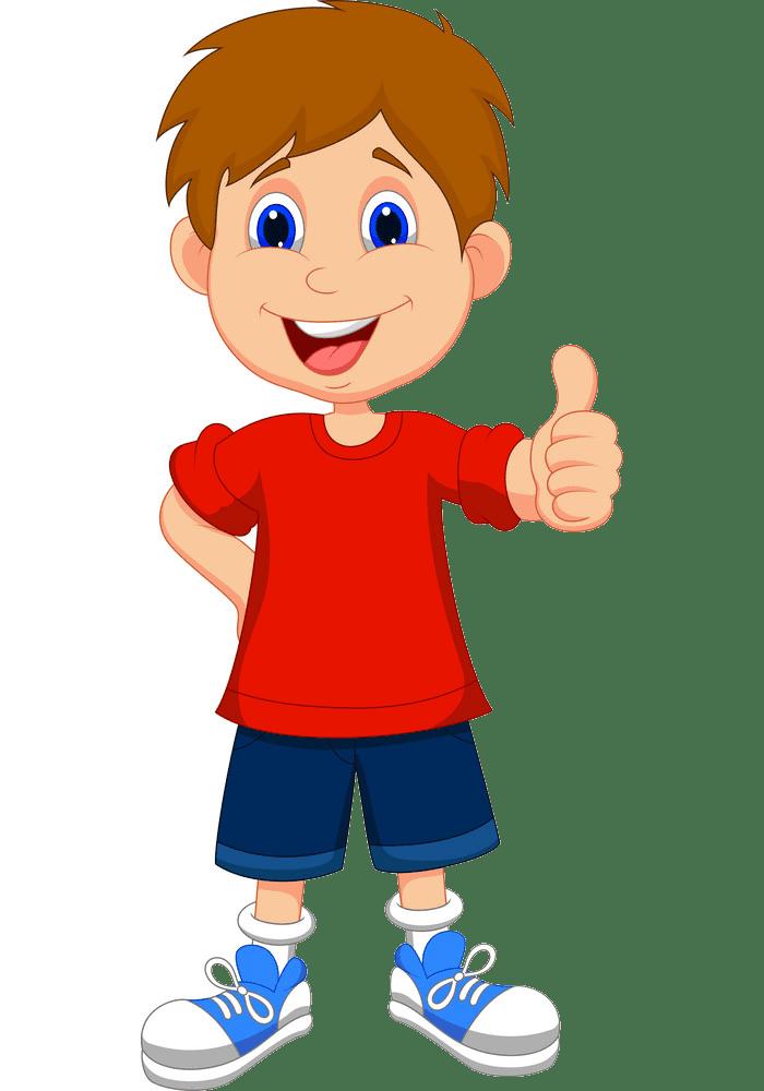 Cartoon Boy clipart transparent