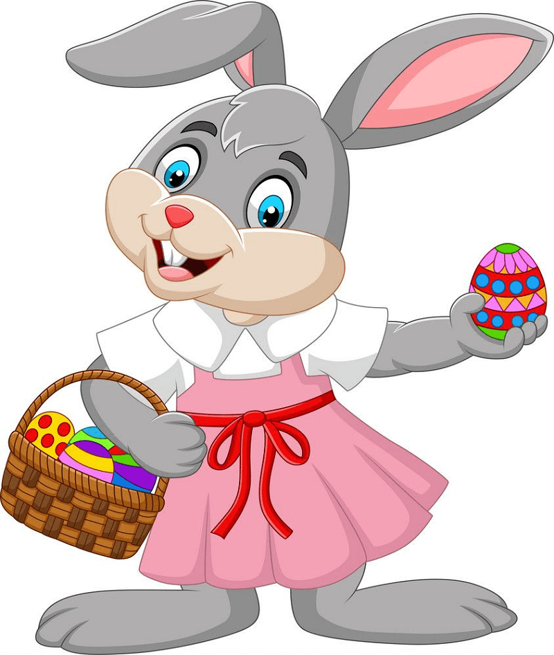 Cartoon Easter Bunny clipart