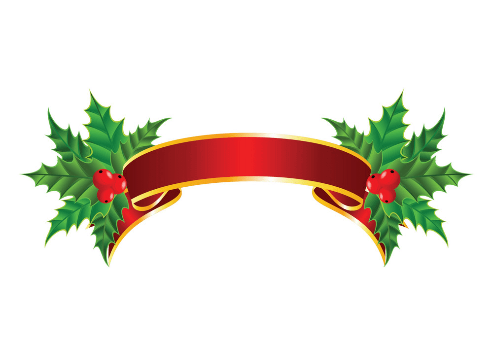 Christmas Banner clipart