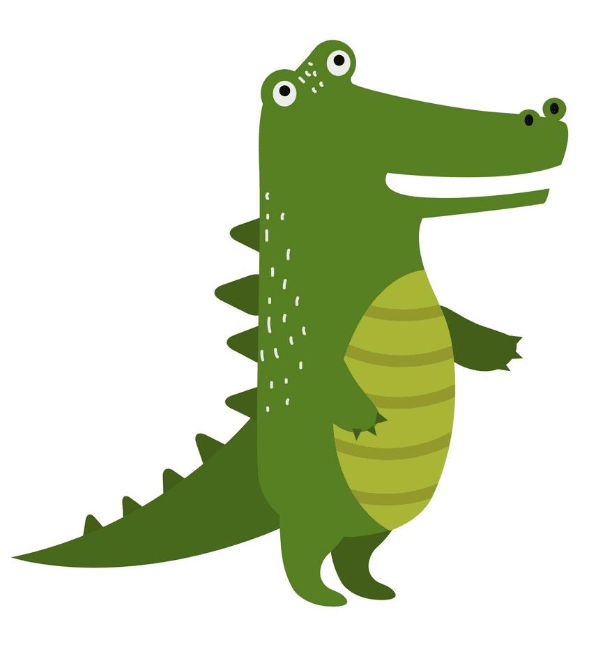 Clipart Alligator 1