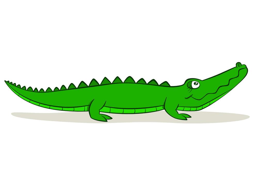 Clipart Alligator 2