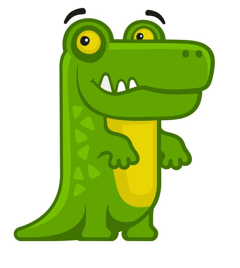 Clipart Alligator 3