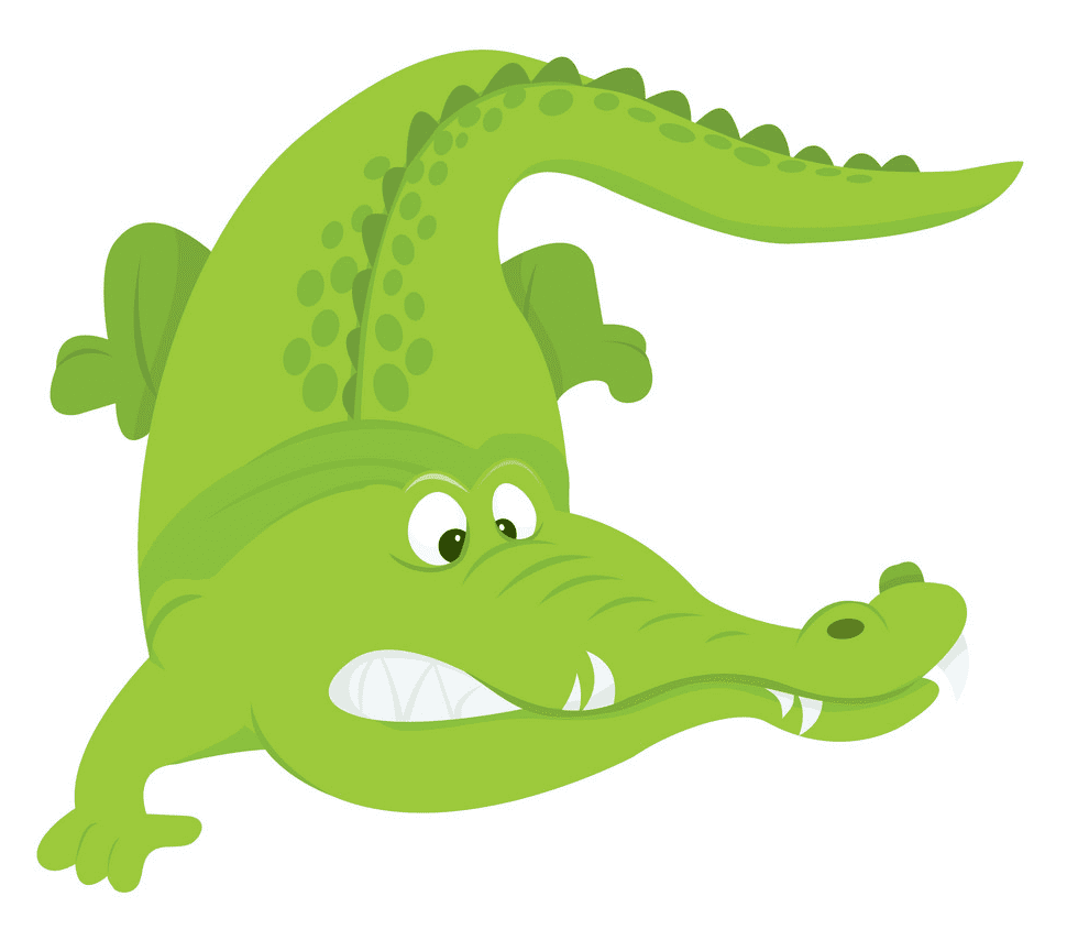 Clipart Alligator free