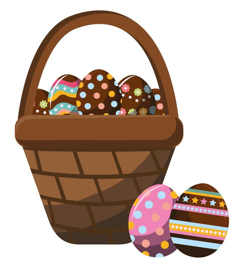 Clipart Easter Basket image