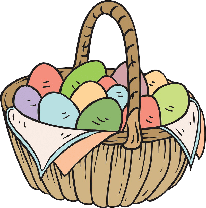 Clipart Easter Basket transparent png