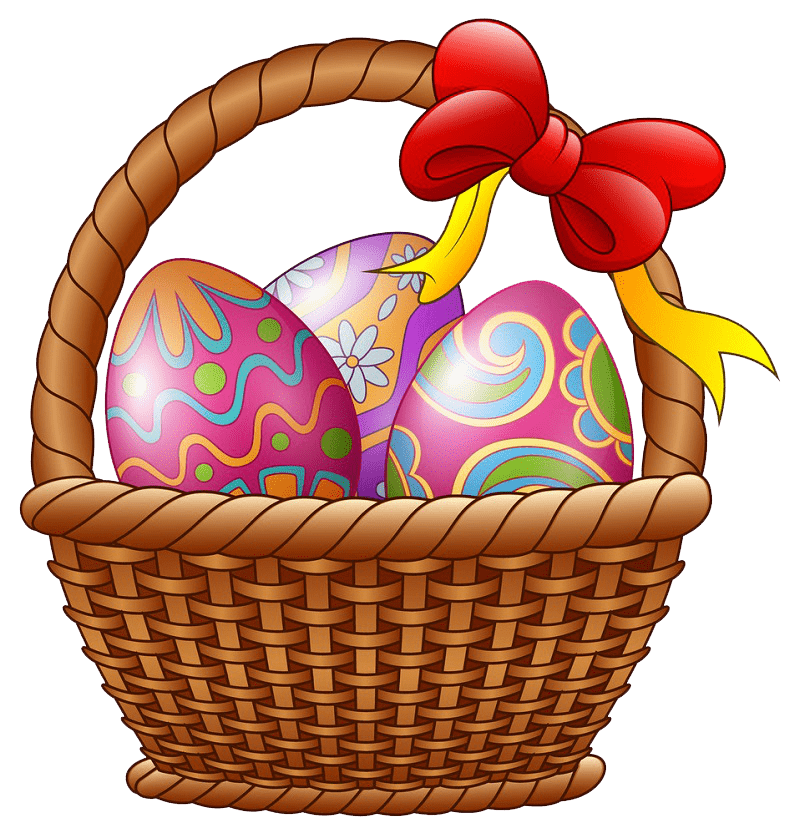 Clipart Easter Basket transparent