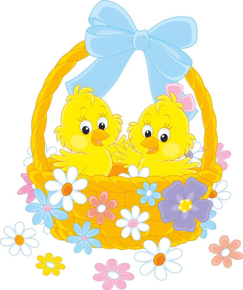 Clipart Easter Basket