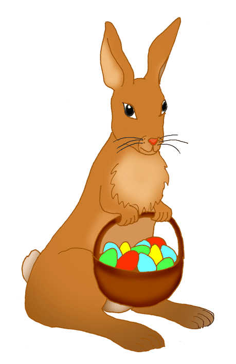 Clipart Easter Rabbit transparent