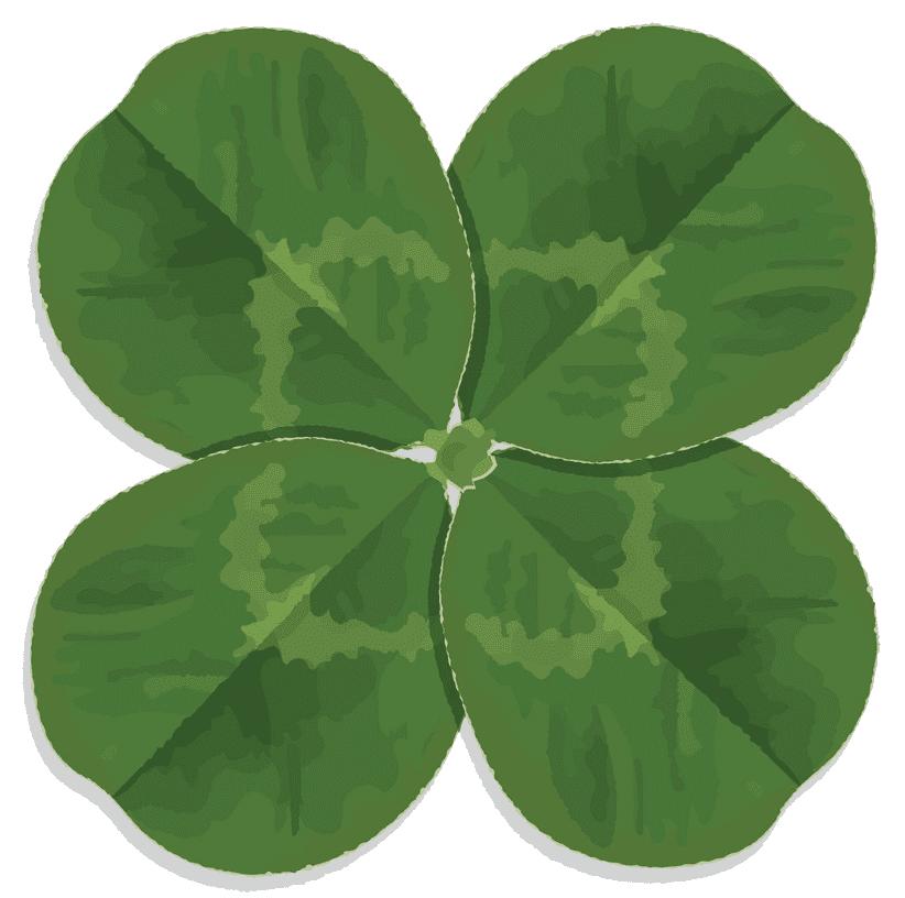 Clipart Four Leaf Clover 2